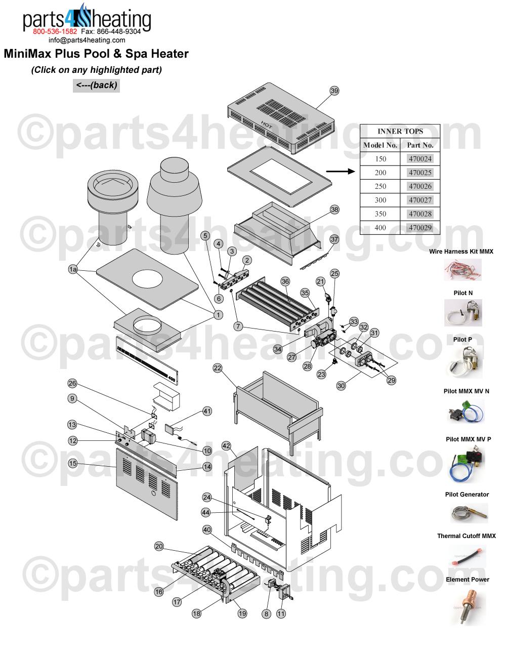 minimax plus pool  u0026 spa heater