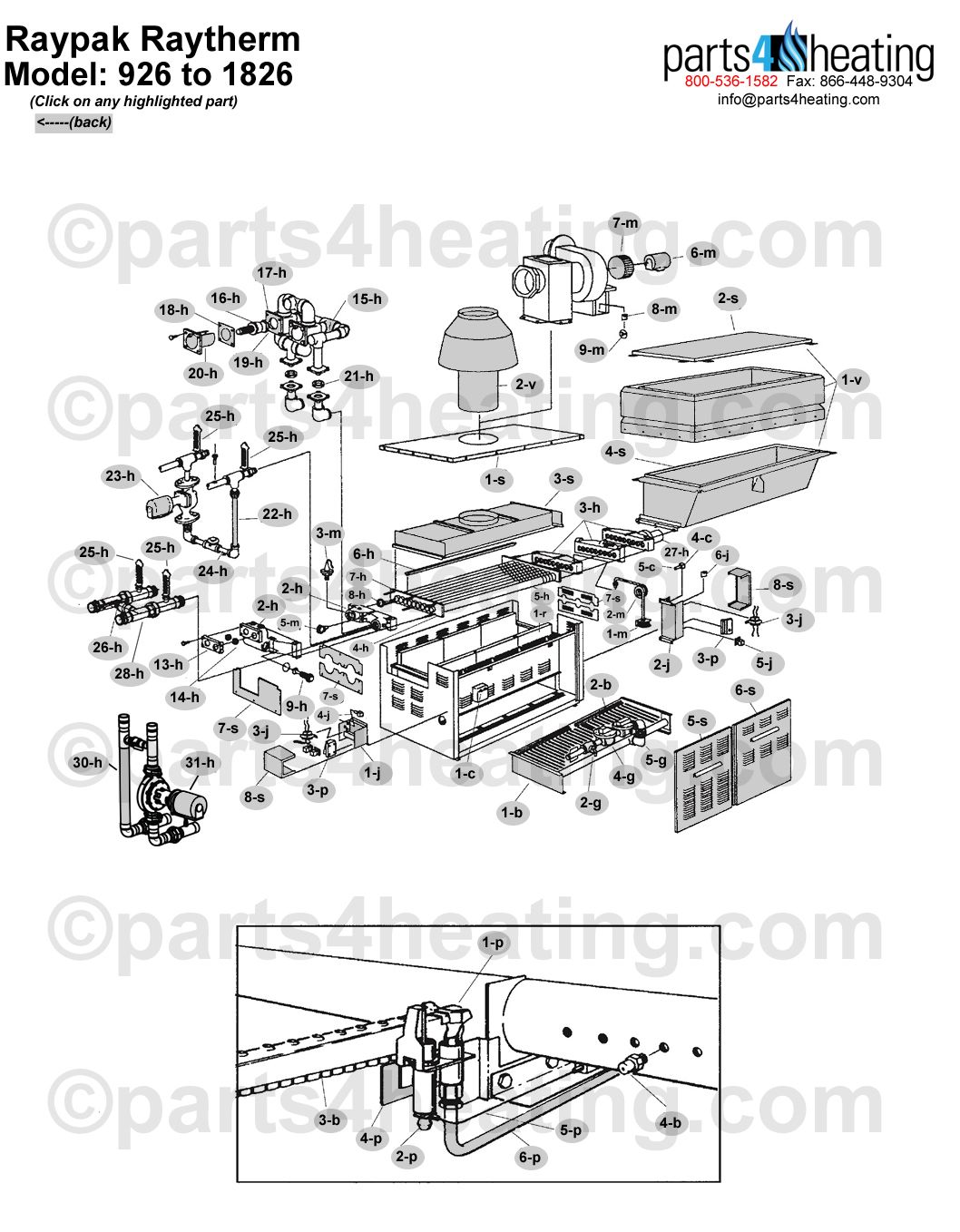 commercial gas heater wiring diagram
