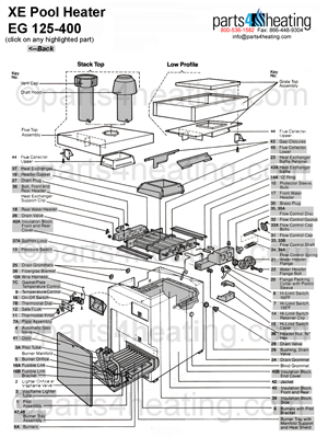 pool heaters teledyne laars xe electronic eg 250 rh parts4heating com 110 House Wiring 110 to 220 Volt Wiring Diagram