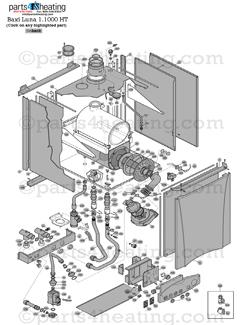 parts4heating com baxi luna ht 1 100 parts rh parts4heating com Baxi Luna Boiler Manual Baxi Luna 310 Fi Troubleshooting