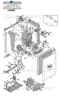 parts4heating com baxi luna ht 1 450 parts rh parts4heating com Baxi Luna 310 Fi Parts Baxi Luna 3 Comfort