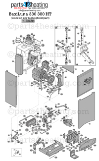 TLuna330 parts4heating com baxi luna ht 330 parts laars mighty therm wiring diagram at n-0.co