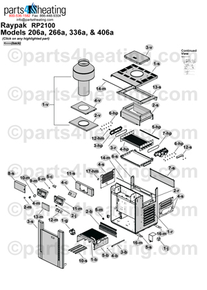 Thumb206A pool heaters raypak residential digital 206a 406a raypak 2100 wiring diagram at gsmx.co