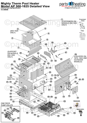 ThumbAP5001825 pool heaters teledyne laars mighty therm ap 0500 laars mighty therm wiring diagram at aneh.co