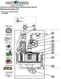 9 on home heating diagram