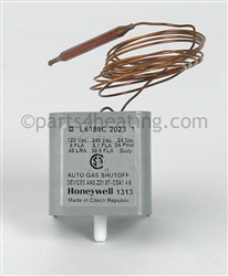 Honeywell L6189c2023 Thermostat Hi Limit W Manual Reset