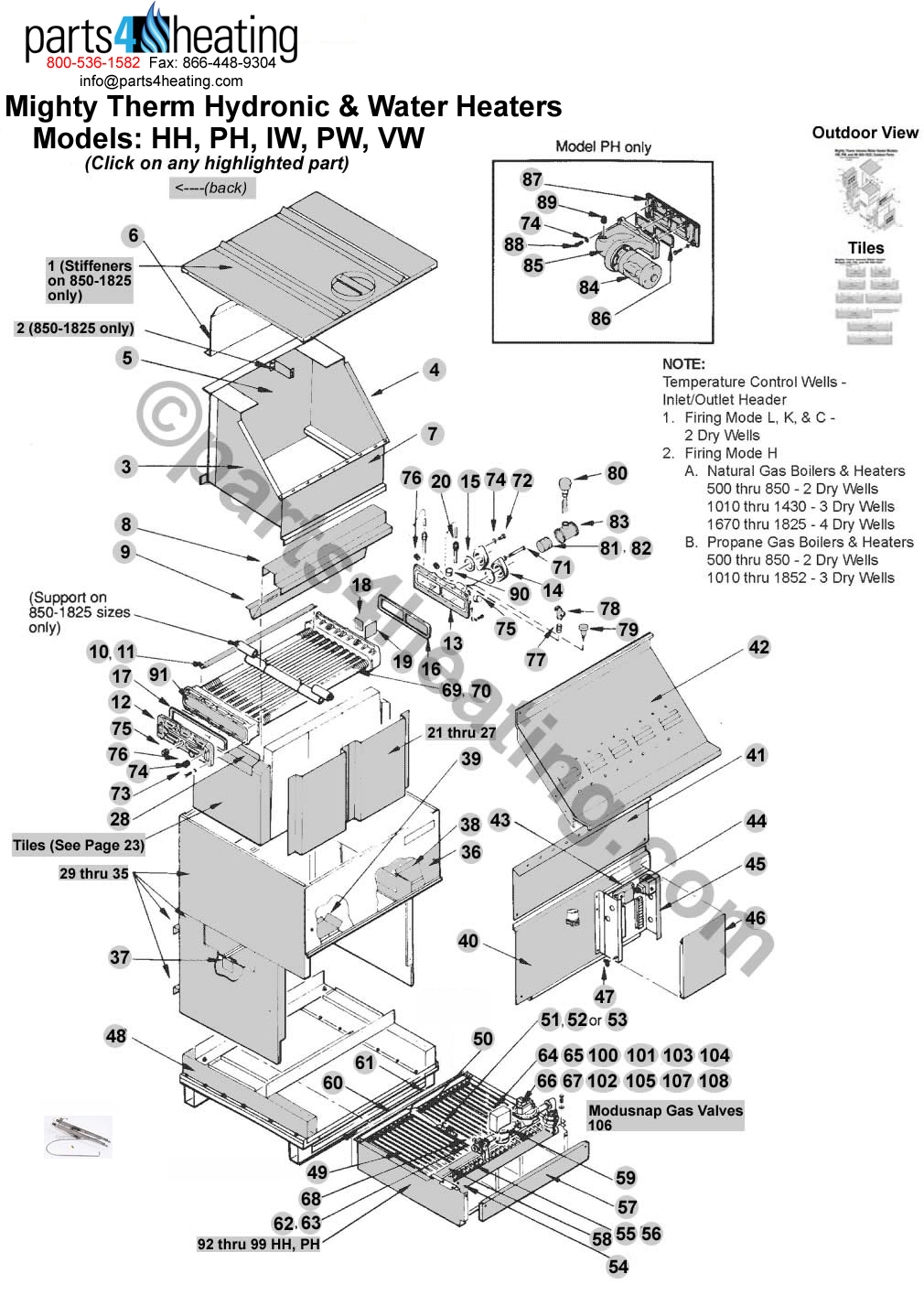 Teledyne Laars Mighty Therm Hh 0600 Sentinel 500 Wiring Diagram